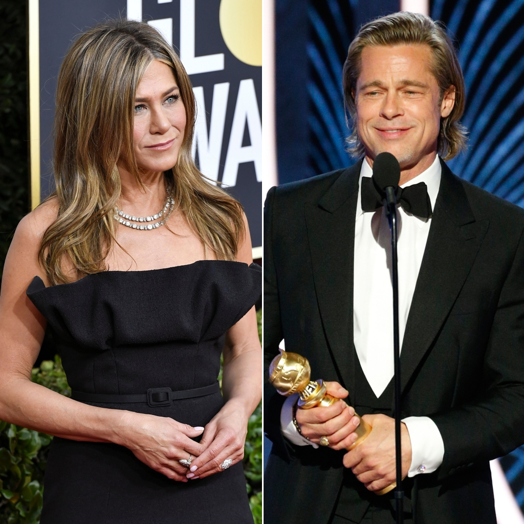Jen Aniston 'Welled Up With Emotion' When Ex Brad Pitt Won a Golden Globe
