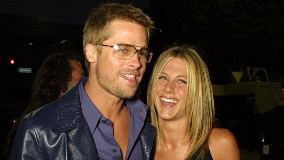 Jennifer Aniston Wearing a Black Tank Top With Brad Pitt