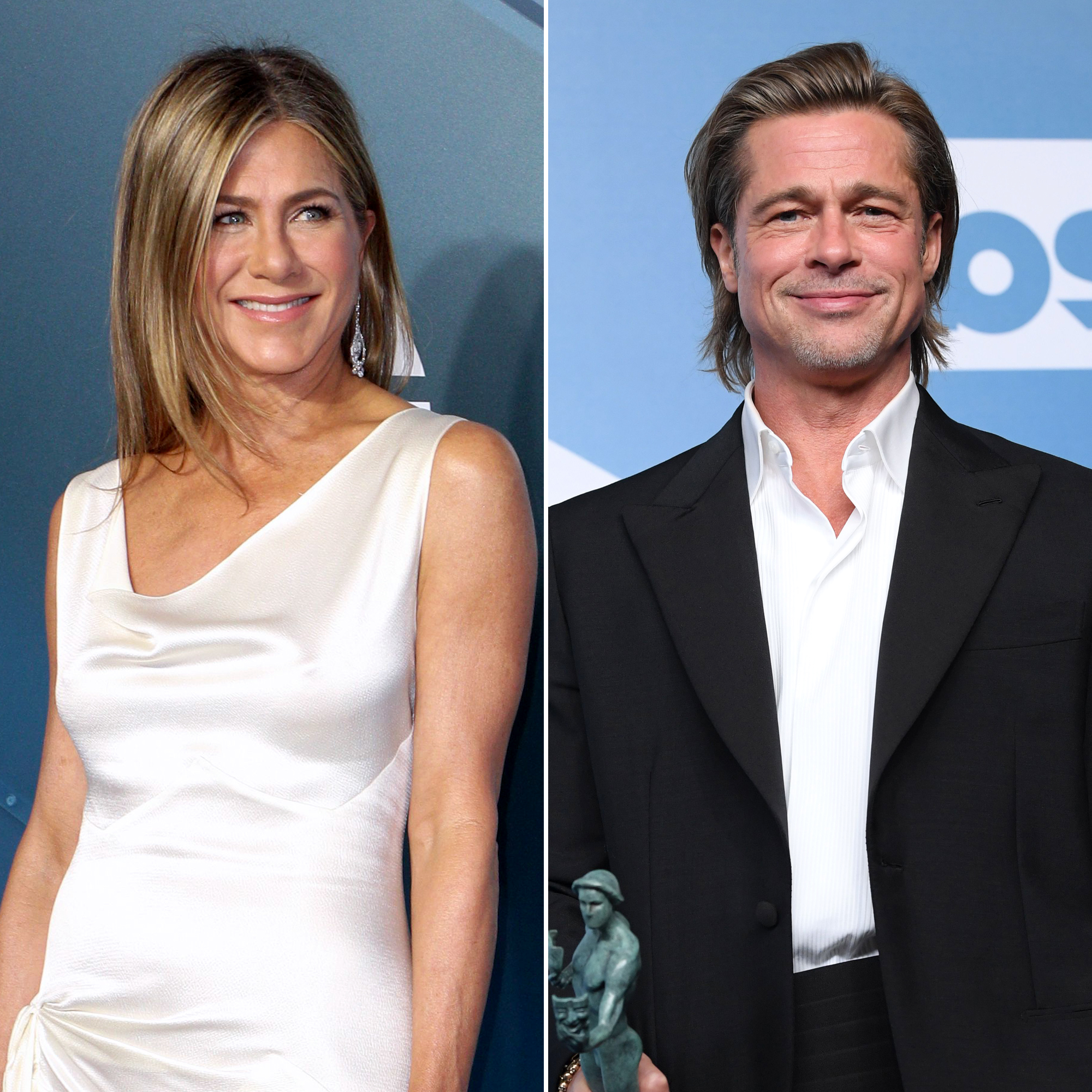 Jennifer Aniston Says Brad Pitt Is Welcome To Join The Morning Show