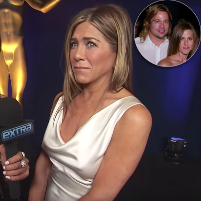 Jennifer Aniston Says It Was 'Sweet' Ex Brad Pitt Watched Her 2020 SAGs Speech: 'We Grew Up Together'