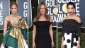 Jennifer Lopez Jennifer Aniston Zoe Kravitz Golden Globes 2020 red carpet
