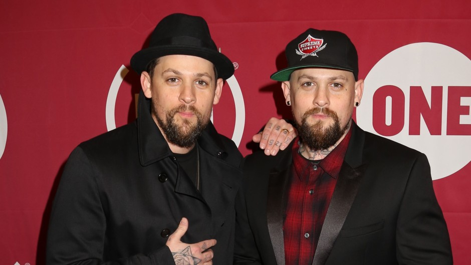 Brothers Joel and Benji Madden on Red Carpet