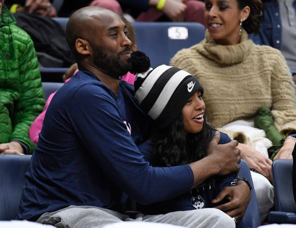Gianna Bryant With Kobe Bryant