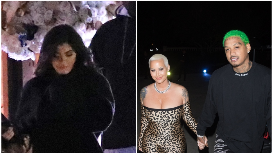 Kylie-Jenner-Amber-Rose-Attend-The-Weeknd's-Party