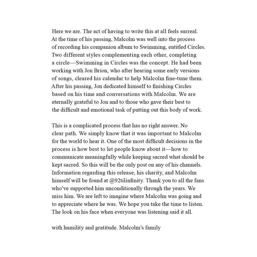 Mac Miller's Family Announces New Album 'Circles'