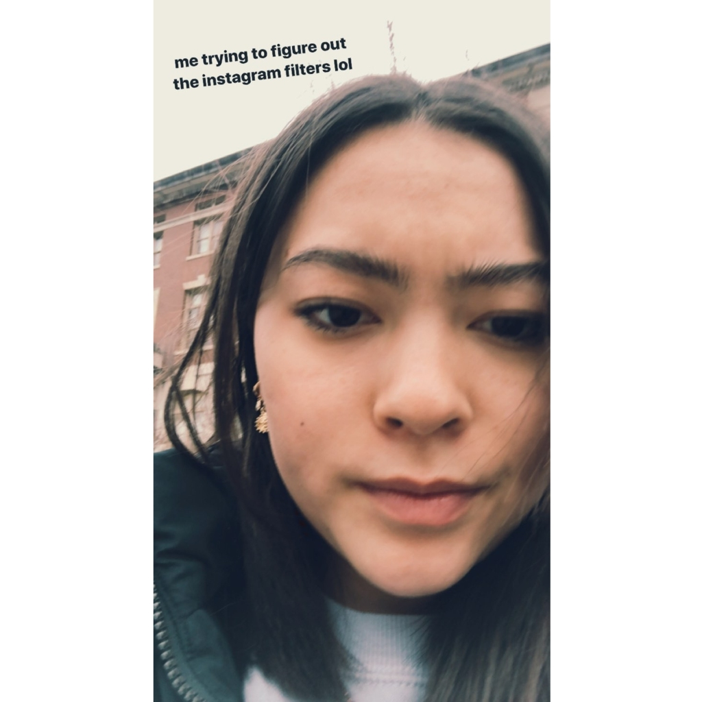 Mady Gosselin Shares Relatable Selfie 'Trying to Figure Out Instagram Filters'