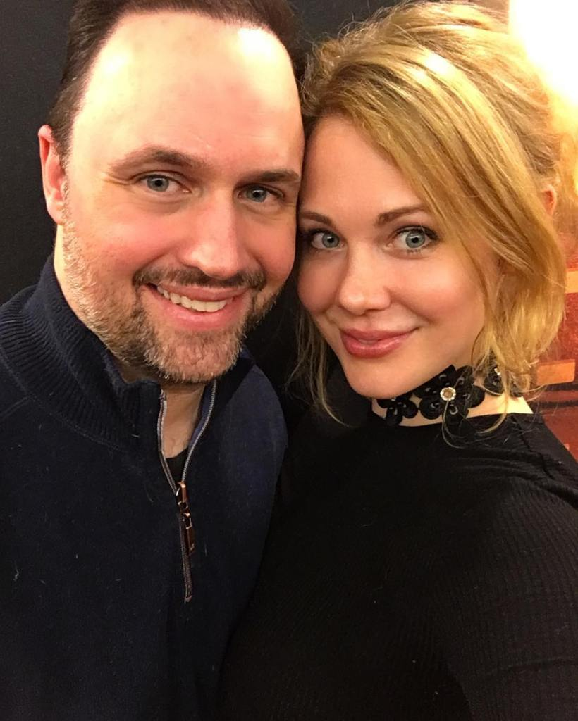 Maitland Ward With Her Husband Terry Baxter