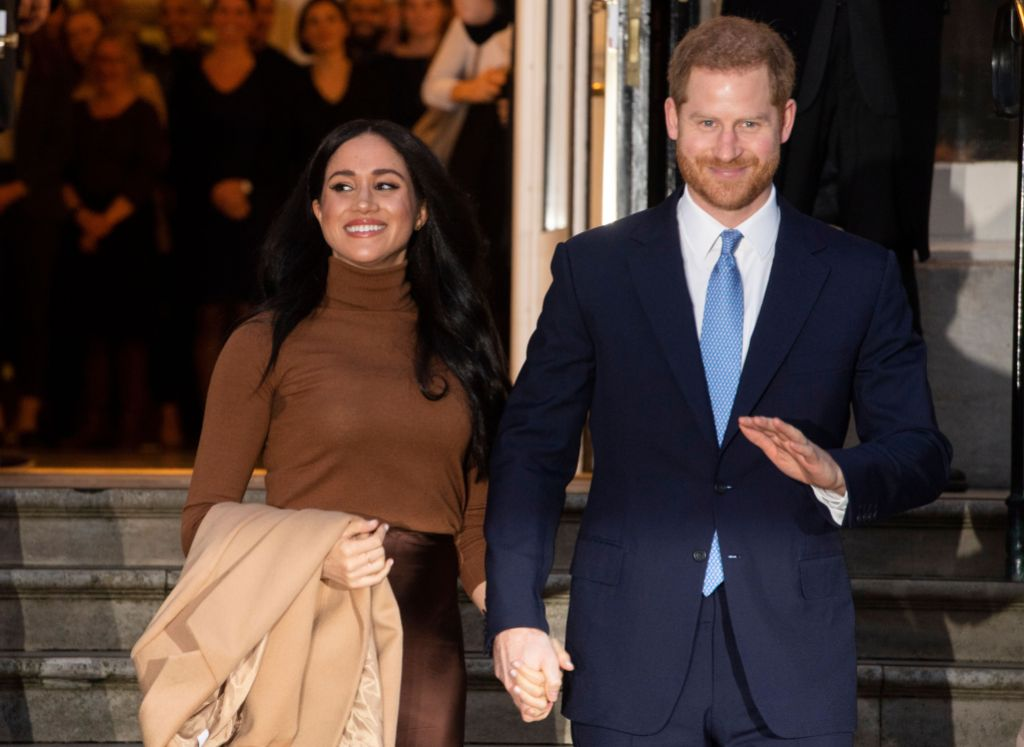 Meghan Markle Holding Hands With Prince Harry