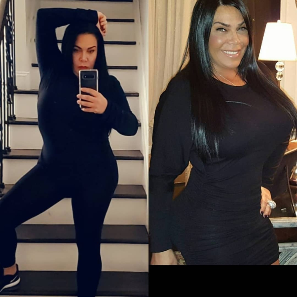 'Mob Wives' Alum Renee Graziano Shows Off Trim Figure After Weight Loss