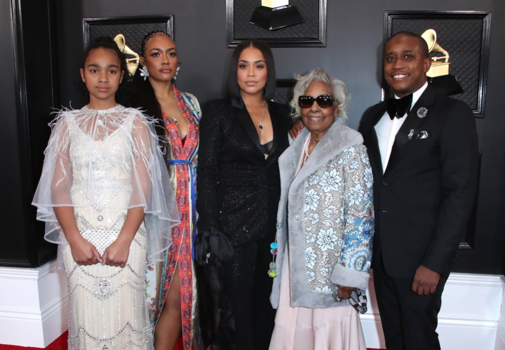 Nipsey Hussle's Family at the Grammys