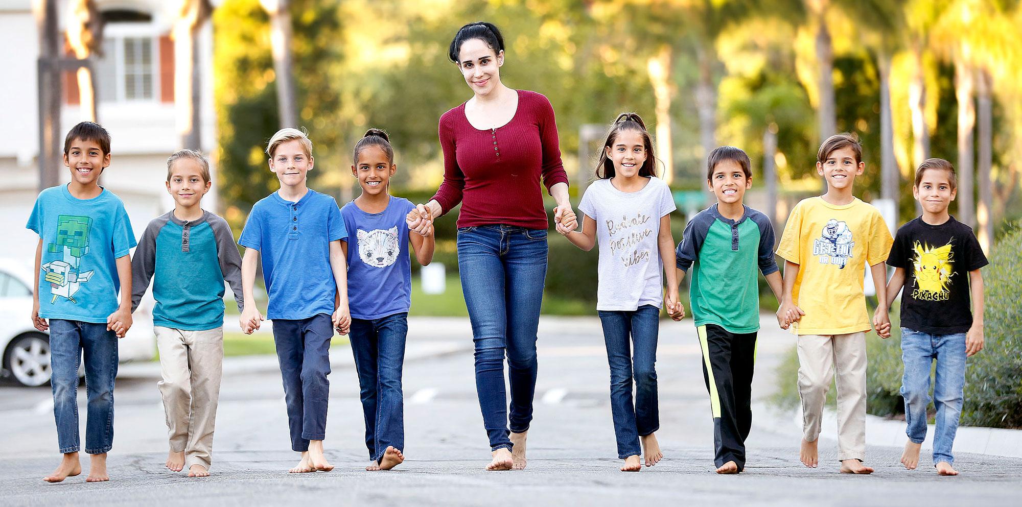 Octomom' Nadya Suleman's Kids Today: See Her 14 Children Now