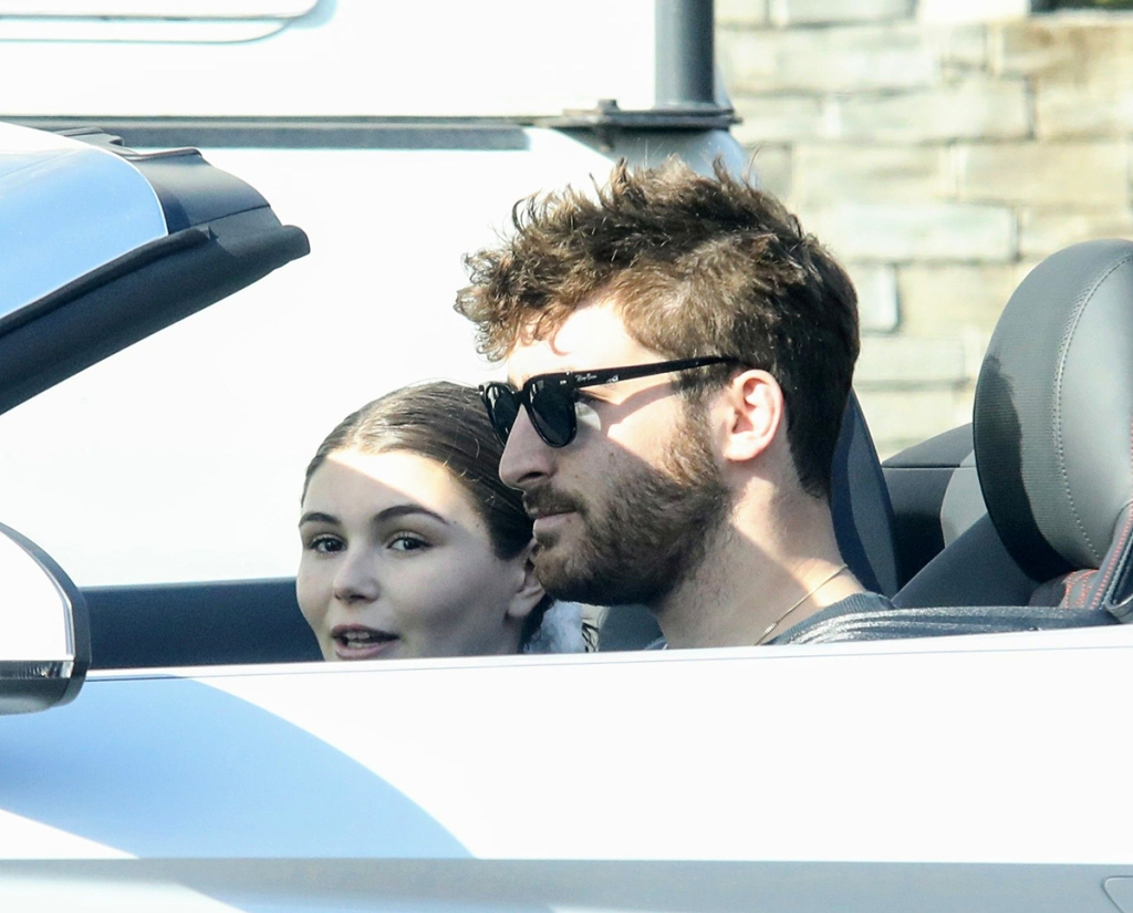 Olivia Jade Looks Carefree During Convertible Ride With Boyfriend Ahead of Mom Lori Loughlin's Trial