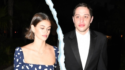 Pete Davidson and Kaia Gerber Walking Hand-in-Hand