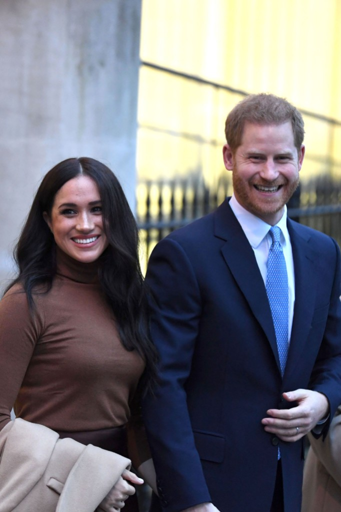 Prince Harry and Meghan Duchess of Sussex visit to Canada House