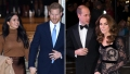 Side-by-Side Photos of Harry and Meghan and Will and Kate