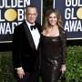 Rita Wilson and Tom Hanks on Golden Globes Red Carpet