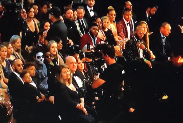 Skeleton at the 2020 Grammys