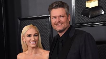 Blake and Gwen at the 2020 Grammys