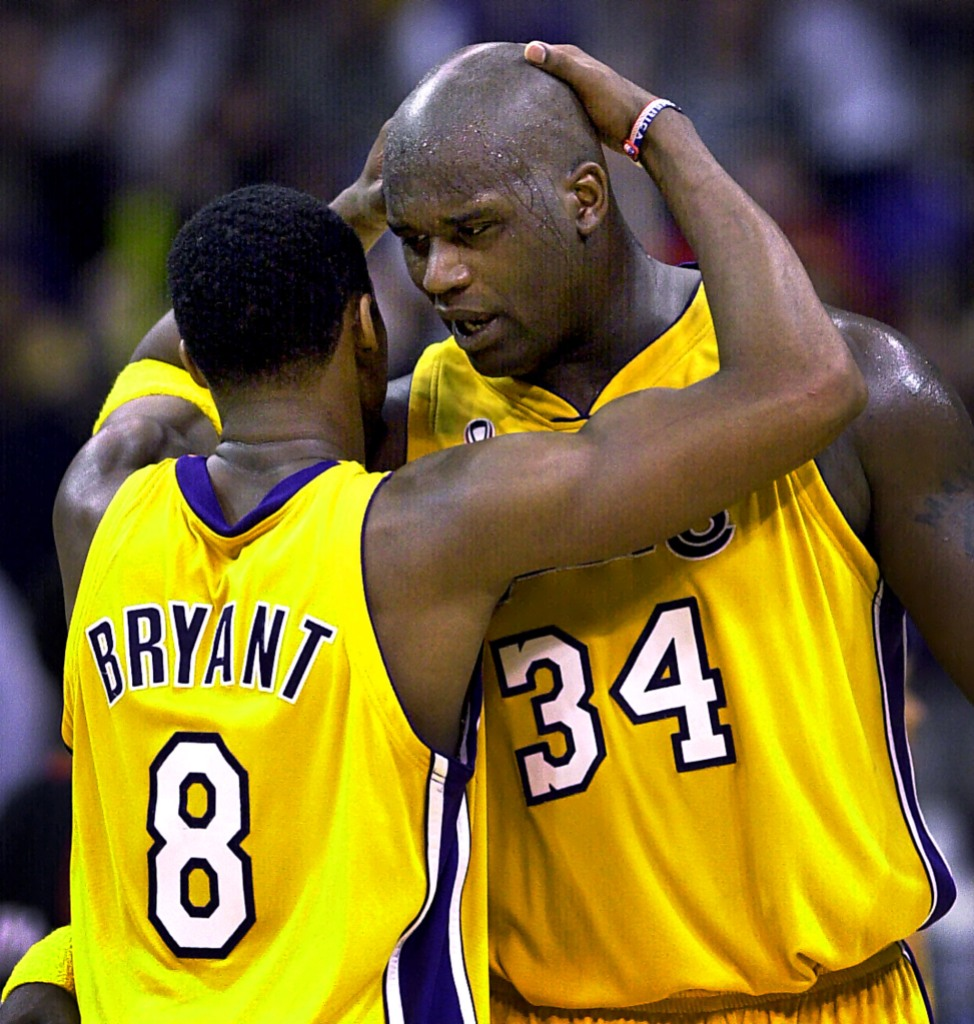 Shaq and Kobe on the Lakers