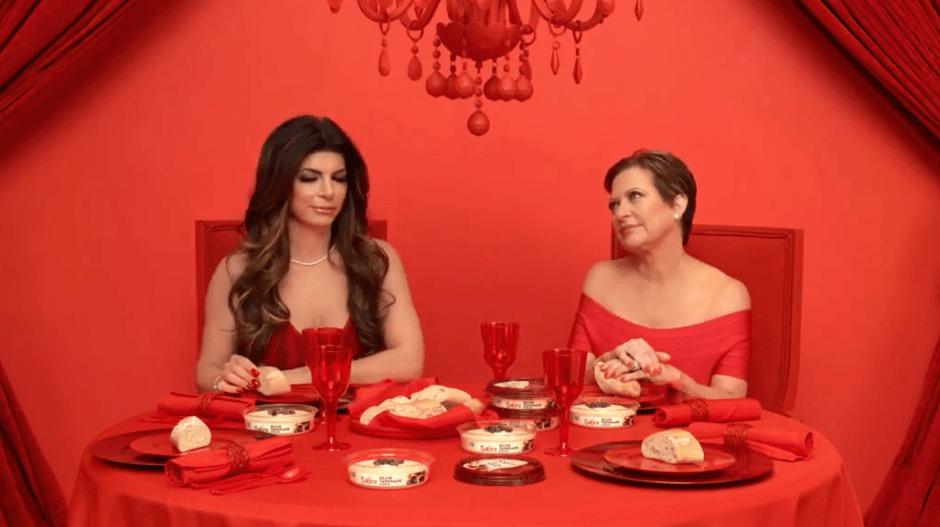 Teresa Giudice and Caroline Manzo Reunite in Sabra Commercial