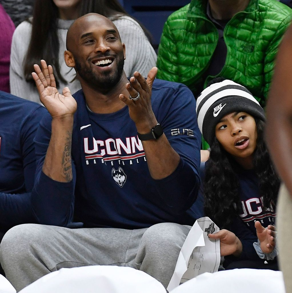 This Clip of Kobe Bryant Explaining a Basketball Game to Daughter Gianna Is So Sad After Their Deaths