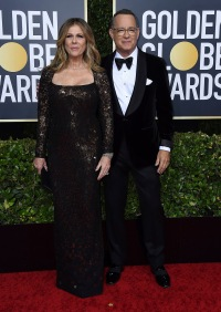Tom Hanks and Rita Wilson Golden Globes 2020