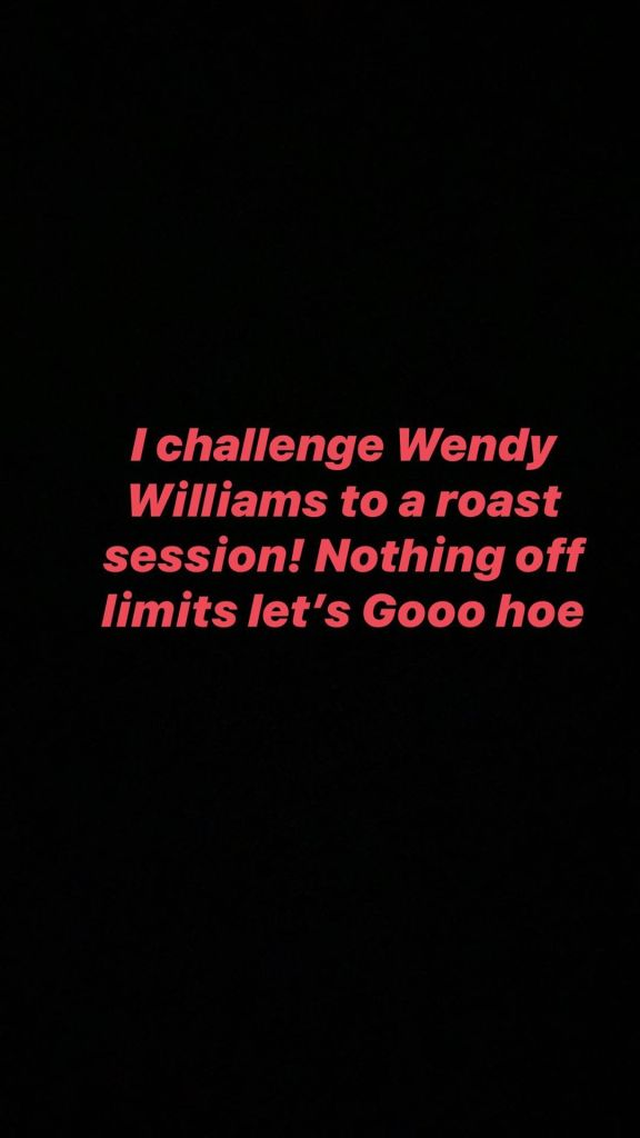 Tommie Lee Talking aBout Wendy Williams