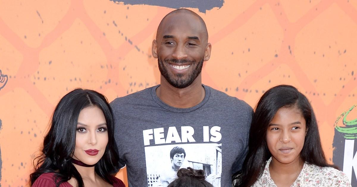 Daughters age bryant kobe Kobe Bryant's