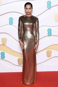 Zoe Kravitz 2020 BAFTAs Red Carpet