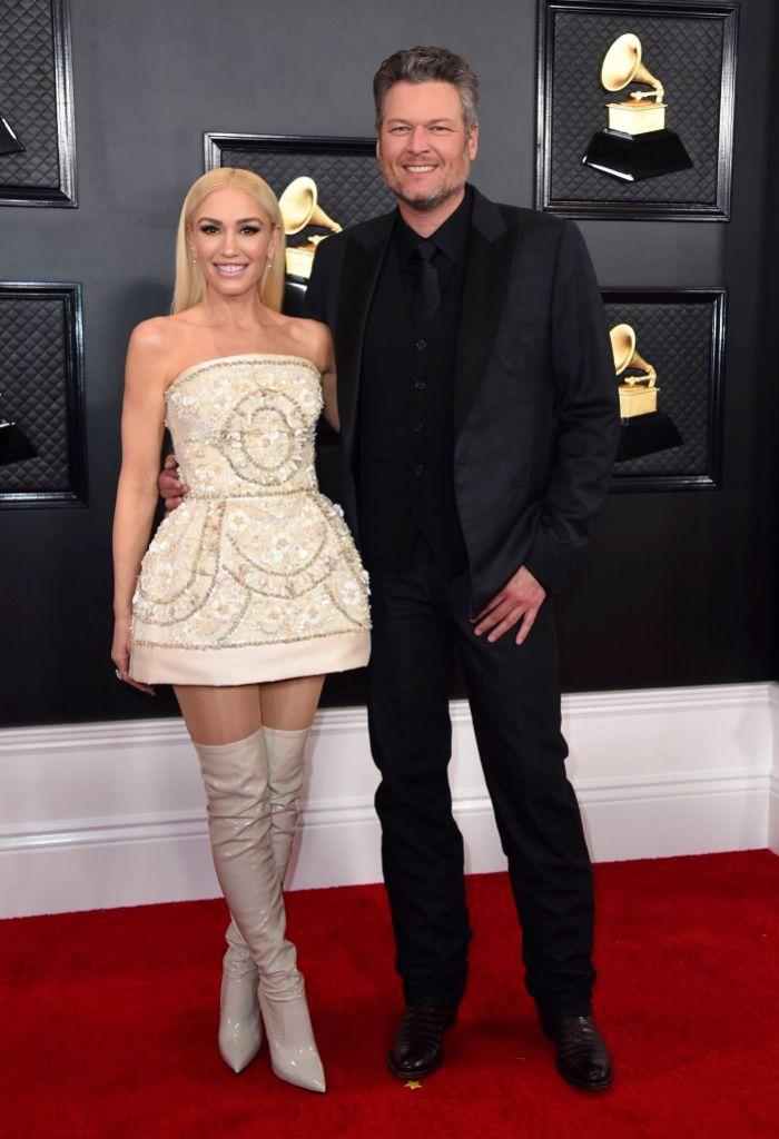 Gwen Stefani and Blake Shelton Killed It at the 2020 Grammy Awards Singing 'Nobody But You'