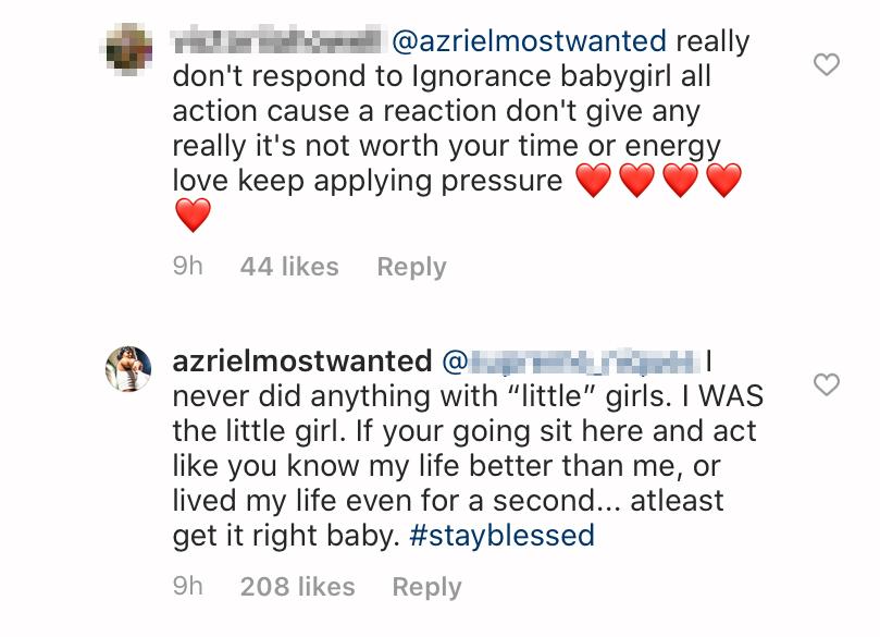 azriel clary comments 2