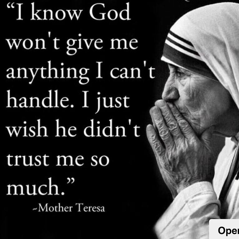 drita davanzo mother teresa quote