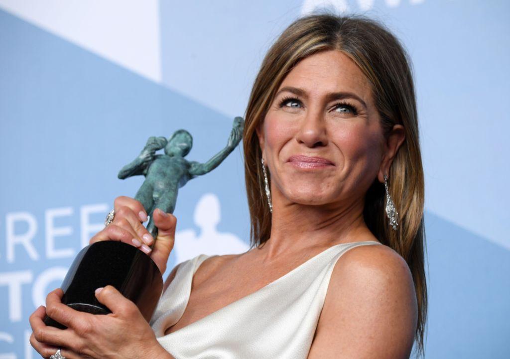Jennifer Aniston SAG Awards Win