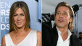 jennifer aniston and brad pitt both attended the 2020 screen actors guild awards red carpet but they walked solo