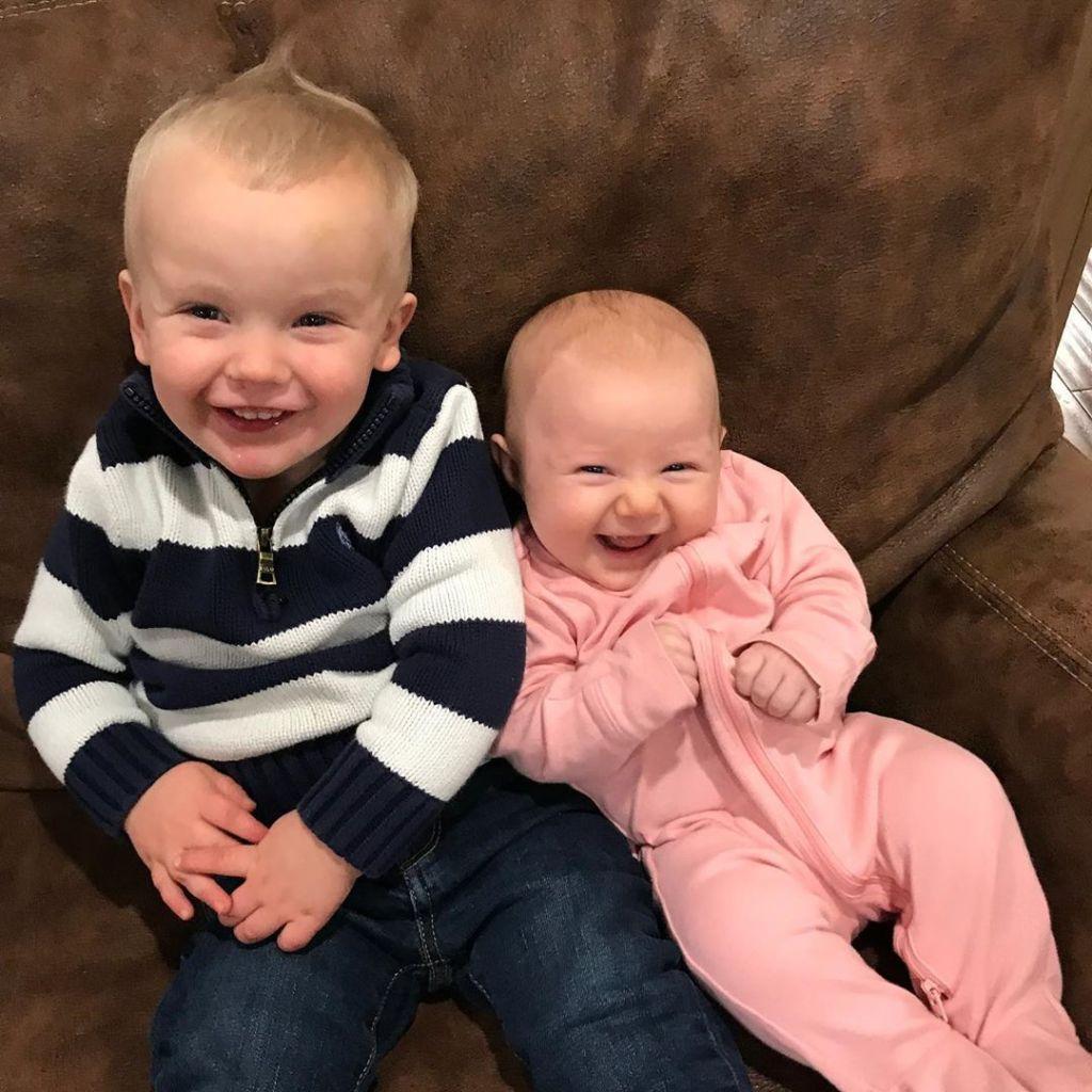joseph and kendra cutest photos baby addison and big brother garrett 1