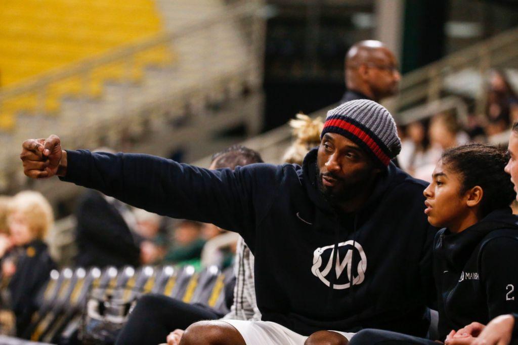 Kobe Bryant at Basketball Game