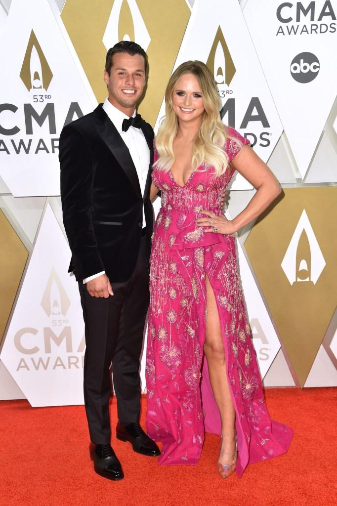 Miranda Lambert and Husband Brendan McLoughlin Celebrate 1-Year Anniversary on Grammys Night