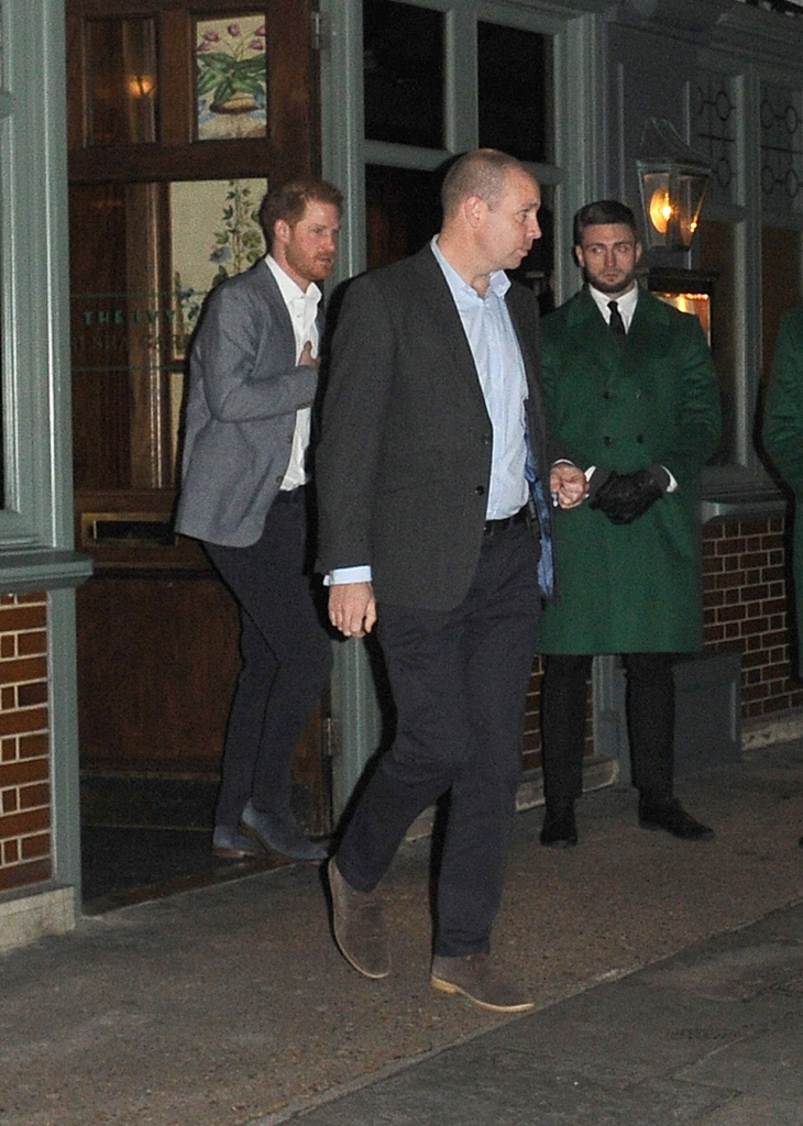prince harry first public appearance after royal family exit