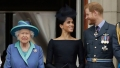 queen elizabeth releases statement about prince harry and duchess meghan markle stepping down from royal duties