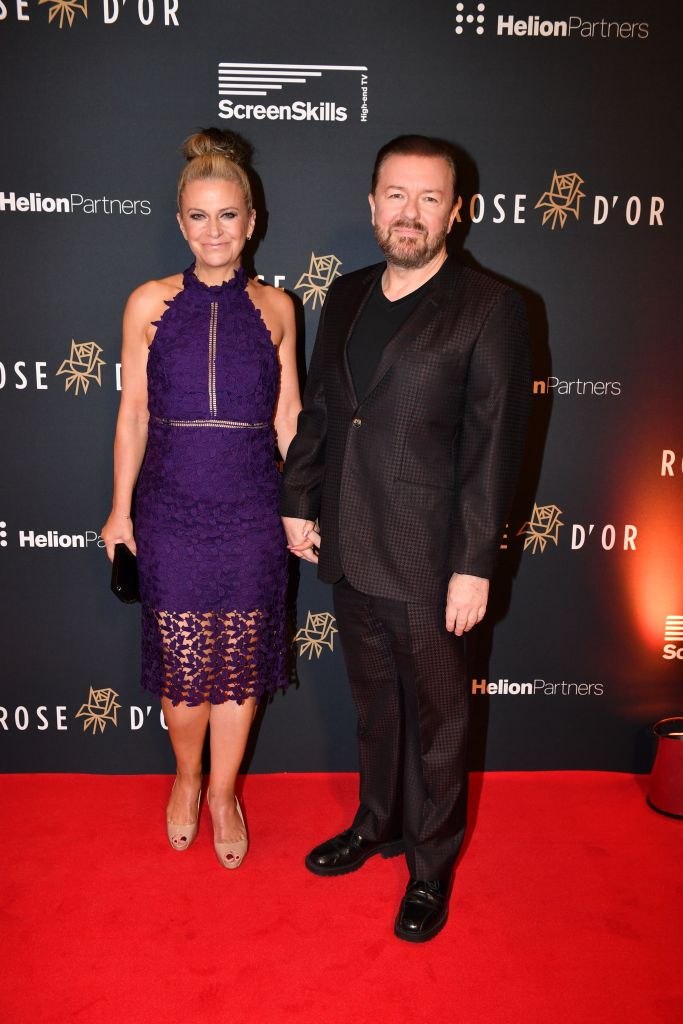 ricky-gervais-with-jane-fonda-as-he-receives-the-Performance-of-the-Year-Award
