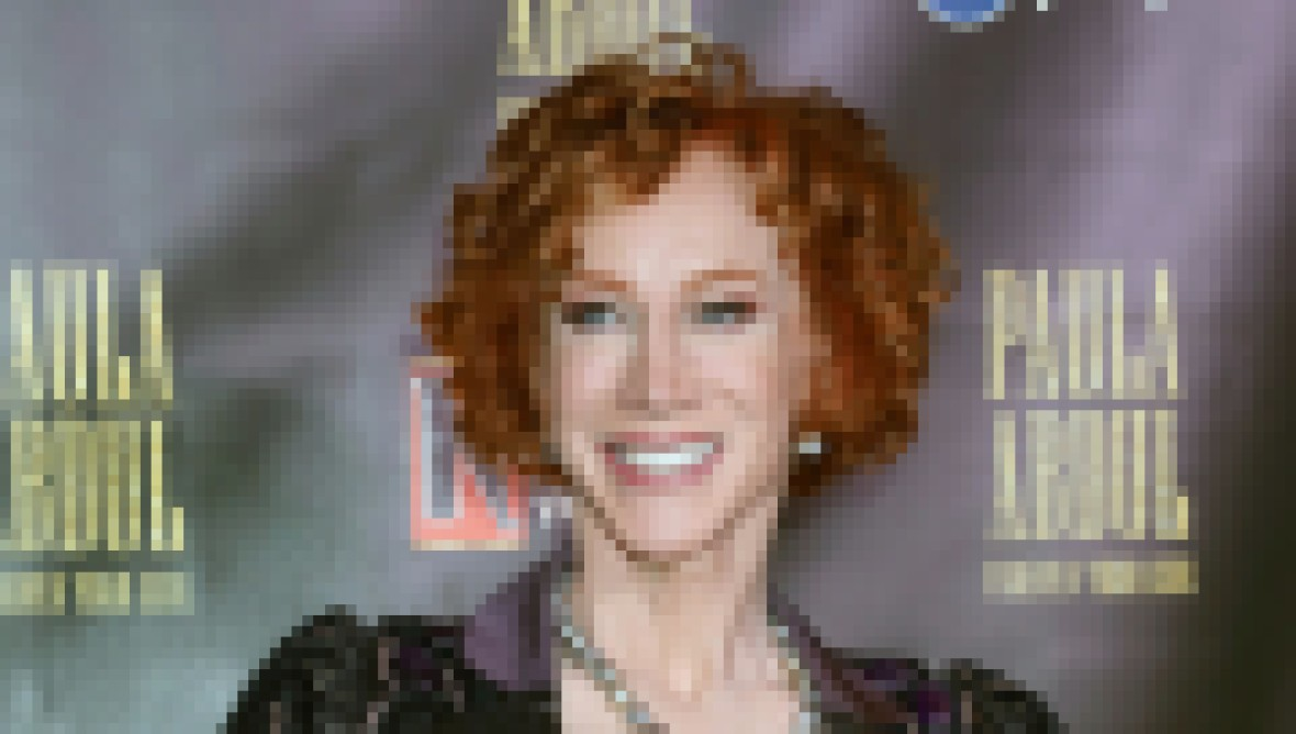 Kathy Griffin Married on New Years Day