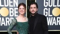 Kit Harrington and Rose Leslie 2020 Golden Globes