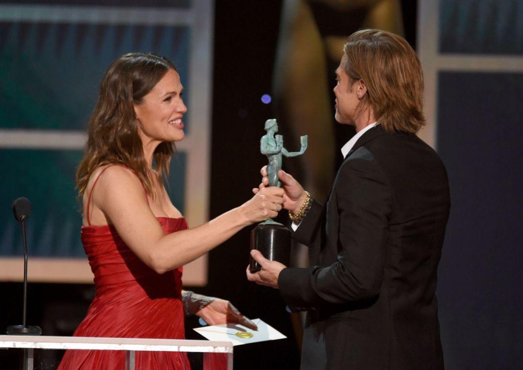 Brad Pitt Winning at the SAG Awards 2020