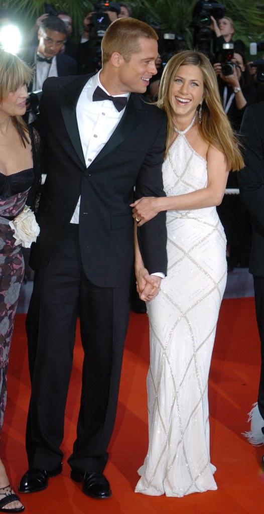 Jennifer Aniston and Brad Pit 2004