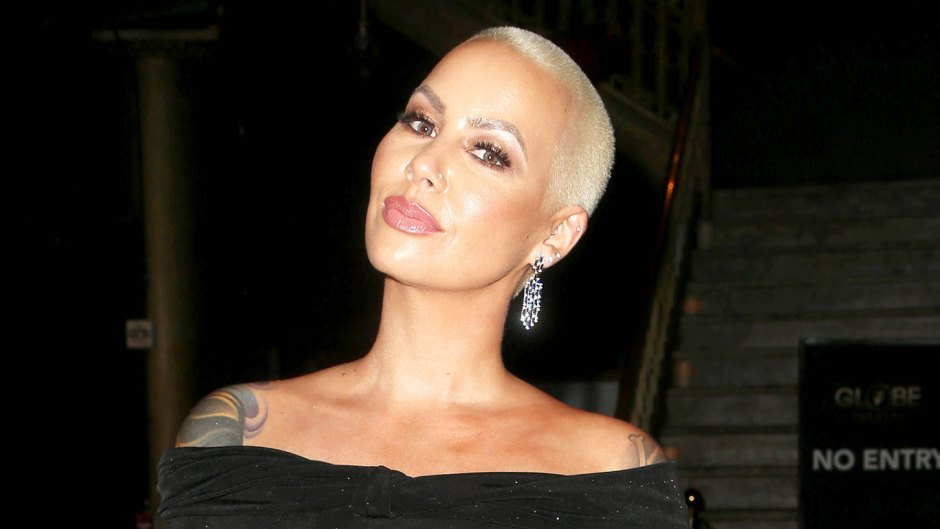 Amber Rose Responds to Claims Shes Too Pretty for a Face Tattoo