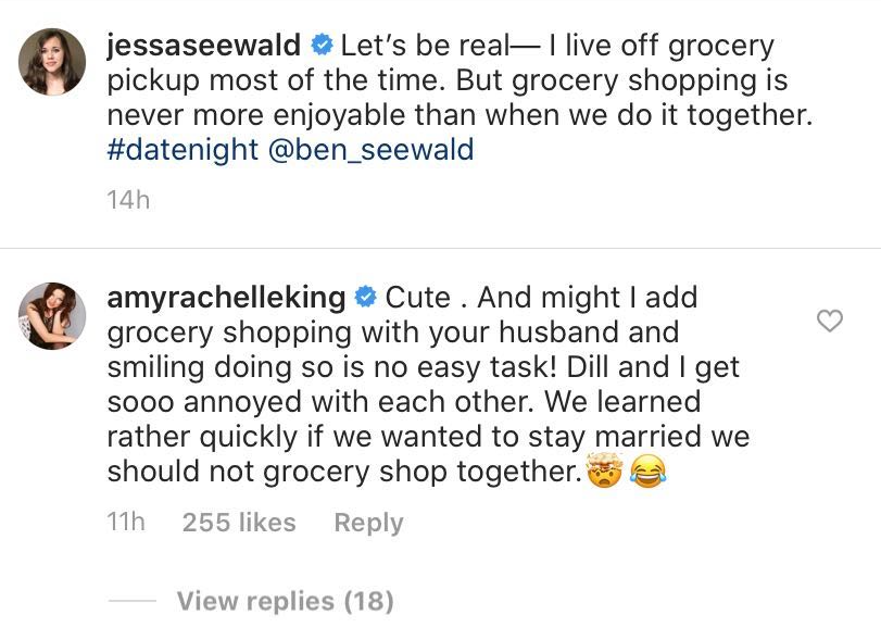 Amy Duggar Admits She Gets 'Annoyed' Grocery Shopping With Husband Dillon- It's 'No Easy Task' inline