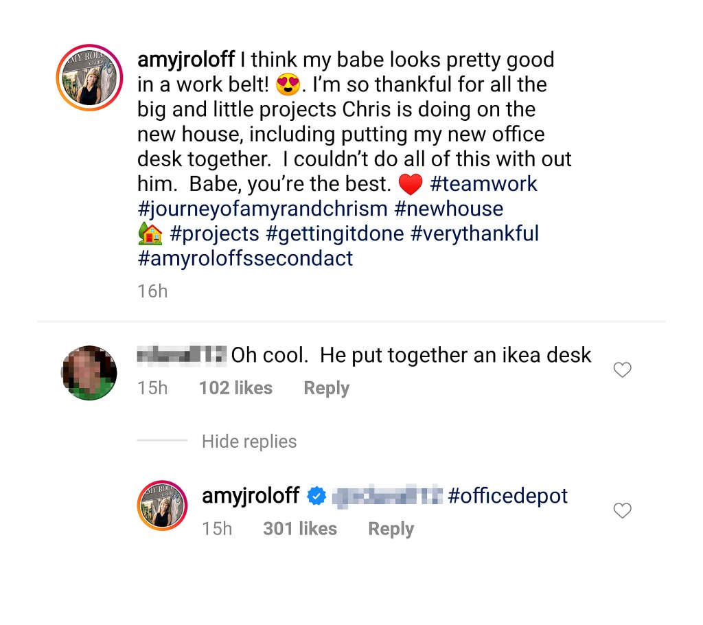 Amy Roloff Claps Back Shady Comment