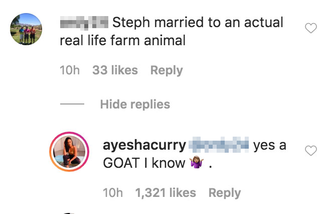 Ayesha Curry Claps Back at Troll Who Calls Her a Farm Animal