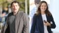 Split of Ben Affleck and Jennifer Garner Walking Outside