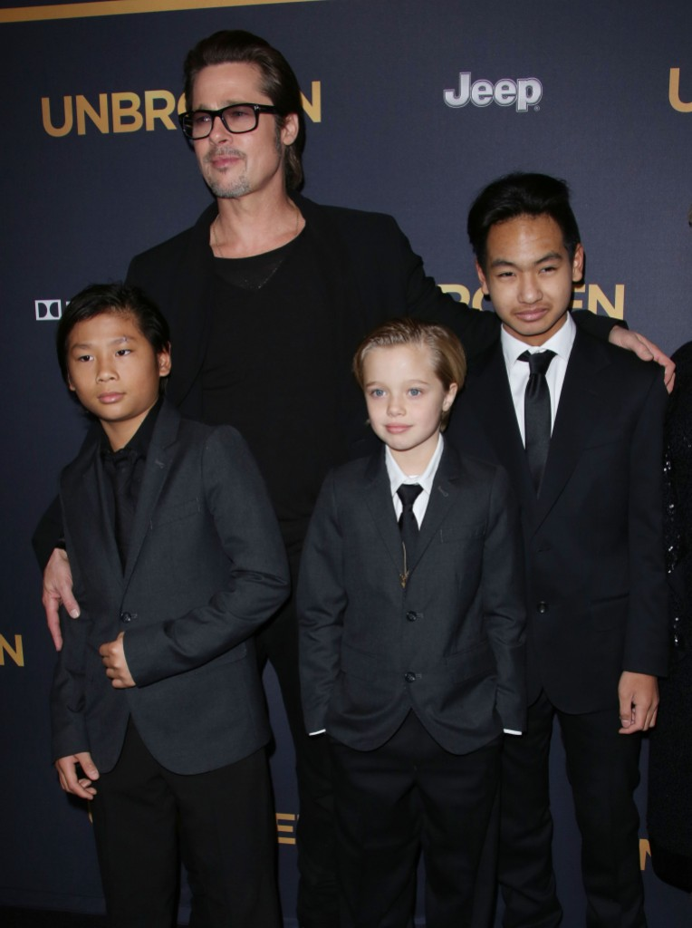Brad Pitt Is 'Glad' to Be 'Slowly' Working on His Relationship With Son Maddox inline